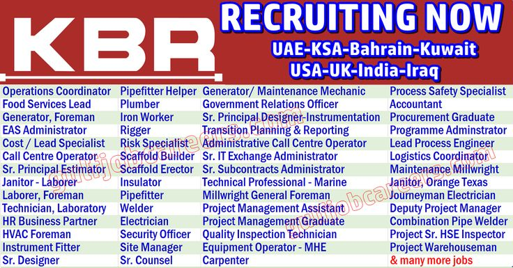 KBR, Inc. is an American engineering, procurement, and construction company, headquartered in Houston. As a leading global engineering kbr-staff-recruitment