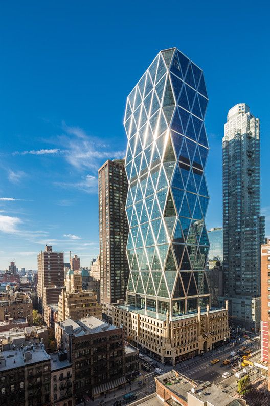 CTBUH Names Winners of 2016 Tall Building Awards,Hearst Tower / Foster + Partners. Image © Hearst Corporation