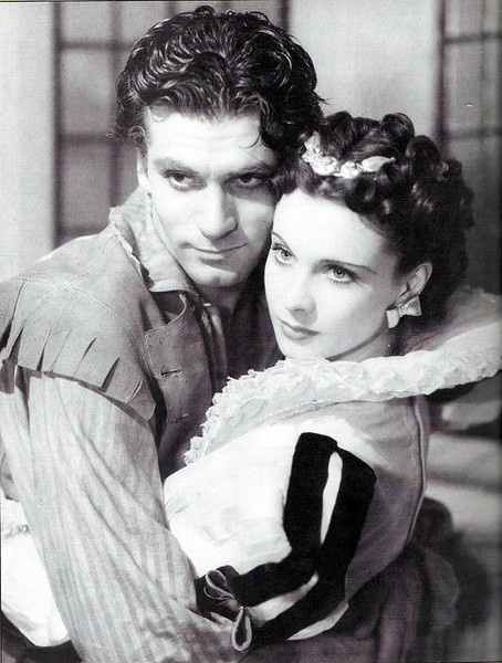 Lawrence Olivier/Vivien Leigh the Brad and Angelina Jolie of their day. He first saw Vivien in The Mask of Virtue in 1936. A friendship developed after he congratulated her on her performance. While playing lovers in the film Fire Over England (1937), they developed a strong attraction, and after filming was completed, they began an affair (both were married). Once divorced, they married in 1940 lasting 20 yrs. before divorcing due to Olivier inability to handle Vivien's bouts of mental…