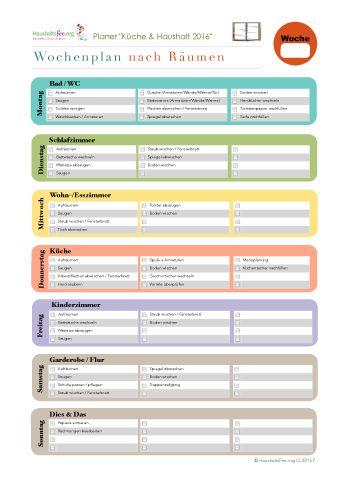 Jetzt ist der richtige Zeitpunkt, ein bisschen Planung und Ordnung in den Haushalt zu bringen. Monatspläne ✓ Wochenpläne ✓ Tagespläne ✓ Checklisten ✓