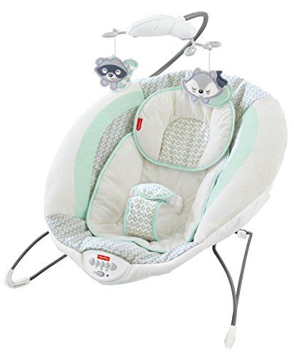 #Soothe #baby to sleep with a plush bouncer featuring music, sounds, calming vibrations and a cozy, deep seat. Your little one will love snuggling into the comfy,...
