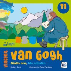 """Collana """"Arte tra le mani"""" VAN #GOGH. GIALLO ORO, BLU COBALTO. Età indicativa: dai 7 anni."""