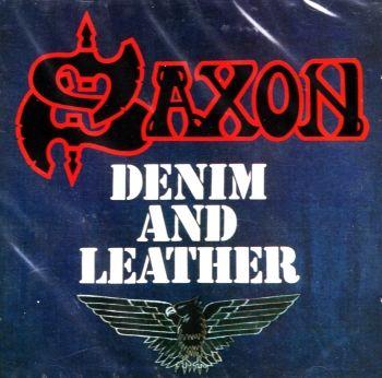 SAXON - DENIM AND LEATHER / CD