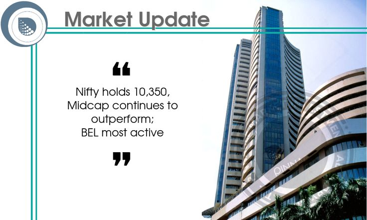 #Equity benchmarks continued to consolidate ahead of Federal Reserve's two-day policy meeting that will begin tonight, and corporate earnings. The 30-share #BSE #Sensex was up 0.06 points at 33,266.22 and the 50-share #NSE #Nifty fell 9.30 points to 10,354.40. The BSE #Midcap index was up 0.3 percent and #Smallcap gained 0.5 percent. About 1,219 shares advanced against 753 declining shares on the BSE.