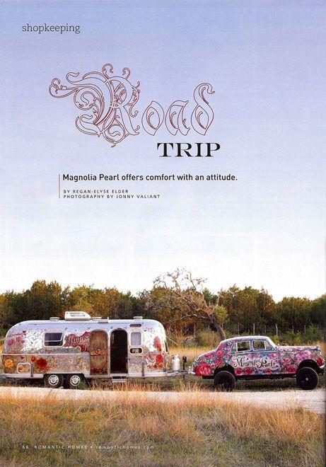 Road Trippin' with #bohemian Magnolia Pearl