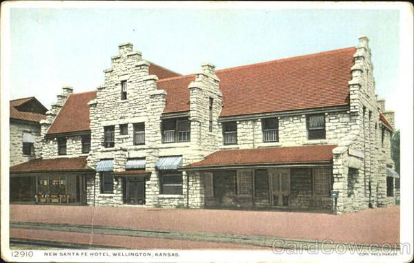 New Santa Fe Hotel Wellington Kansas