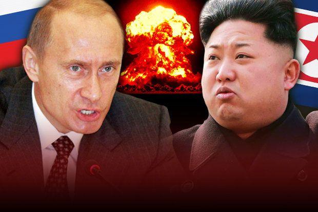 Putin move mísseis para a fronteira da Coreia do Norte à medida que a Rússia se prepara para a guerra.