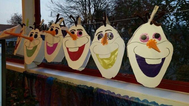 Sint Maarten, Lampion, Olaf, Frozen, lantern. Nov. 2015