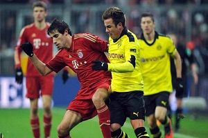 Prediksi Bayern Munchen vs Dortmund 18 Mei 2014: German Bundesliga matches for this time will bring Dortmund vs Bayern Munich will be held on Sunday (05/18/2014) Held at Olympic Stadium - Berlin and will be broadcast LIVE on RCTI At 1:00 pm.  Sumber: http://score88.com/prediksi-bayern-munchen-vs-dortmund-18-mei-2014-piala-jerman/