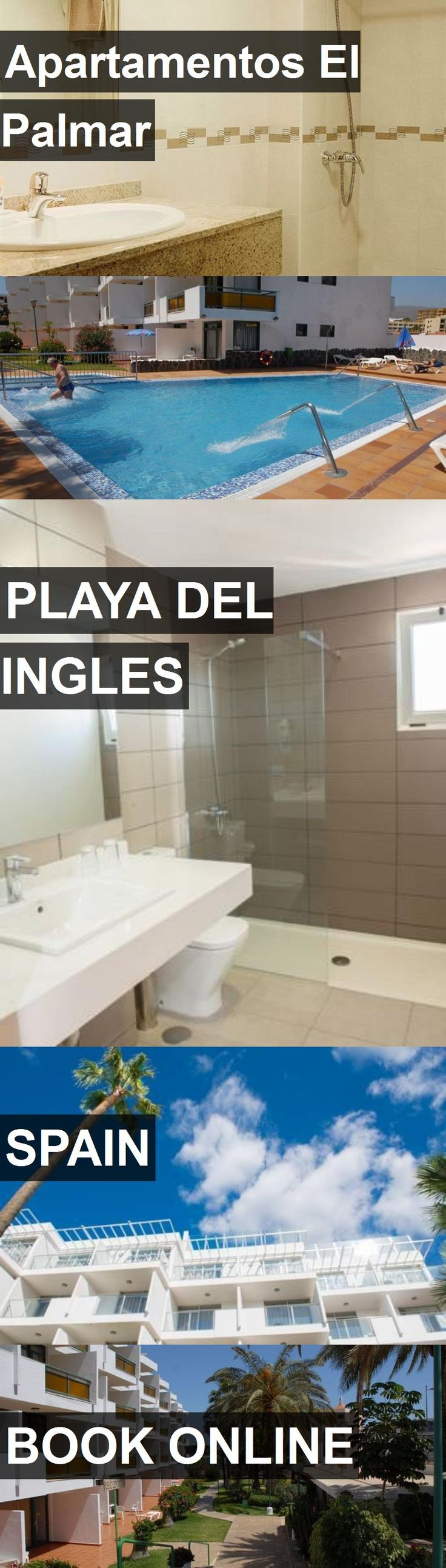 Hotel Apartamentos El Palmar in Playa del Ingles, Spain. For more information, photos, reviews and best prices please follow the link. #Spain #PlayadelIngles #travel #vacation #hotel