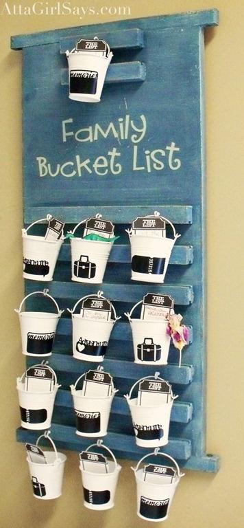 ~Family bucket lists
