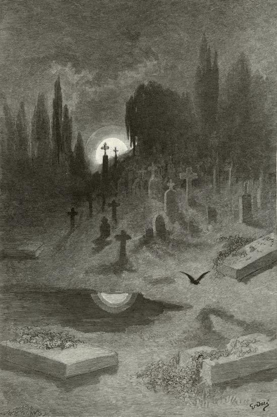 Paul Gustave Doré 'Wandering From the Nightly Shore'