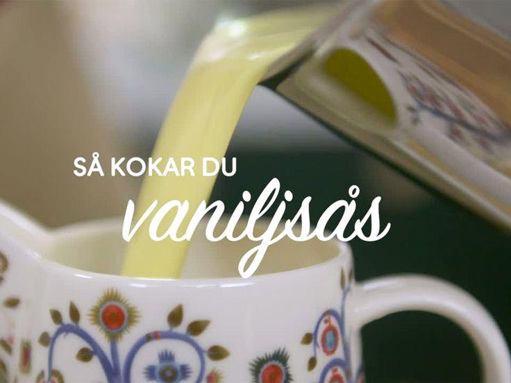 Roy Fares vaniljsås - se