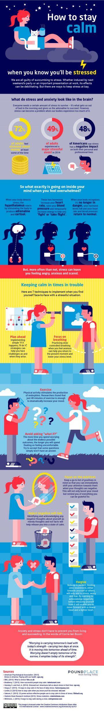 10 Proven Ways To Help Keep Calm Under Pressure