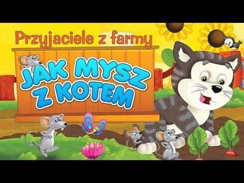 Bajka dla dzieci - Przyjaciele z farmy - Jak Mysz z Kotem - LEKTOR PL