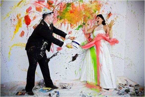 Top 10 idei pentru sedinta foto trash the dress