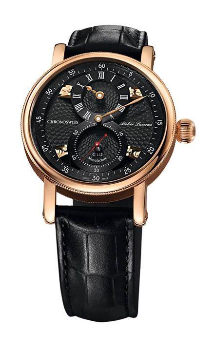 CHRONOSWISS Sirius Flying Regulator Un extraordinario calibre, con carátula tridimensional y que se abraza al pulso mediante una correa de cuero negro pulido. #WatchesWorld, los relojes de tu vida.