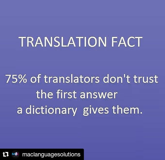 How true is this??? SO relating to this post by our friends at @maclanguagesolutions! #EscobarRamsey #Panama #Translation #Traduccion #Traduzione #Ingles #Español #Italiano #English #Spanish #Italian #Inglese #Spagnolo #TranslationHumour  #Repost @maclanguagesolutions (@get_repost) ・・・ How many dictionaries do you use to make sure you got the right word? ¿Cuántos diccionarios usás para asegurarte de que encontraste la palabra correcta? #Translation #Translatorlife #Dictionaries