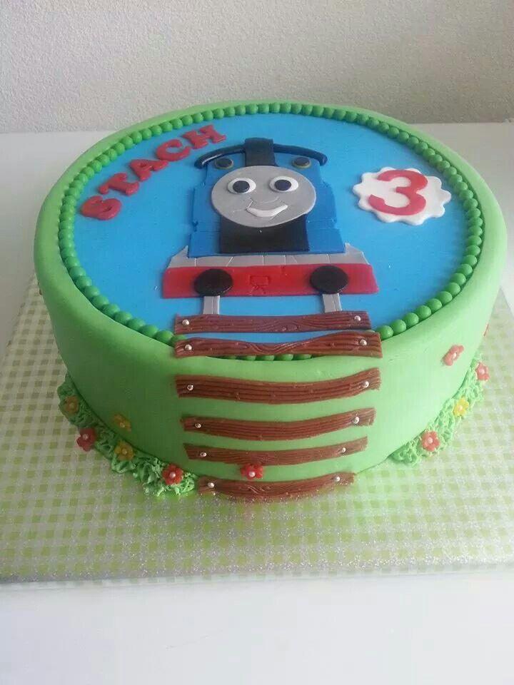 Thomas de trein taart