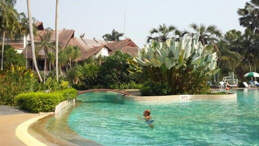 Chilling.. felix river kwai resort. Kanchanaburi