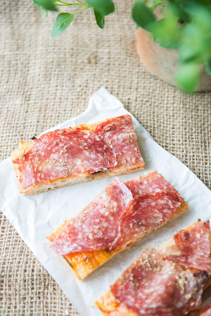A classic: with organic salami