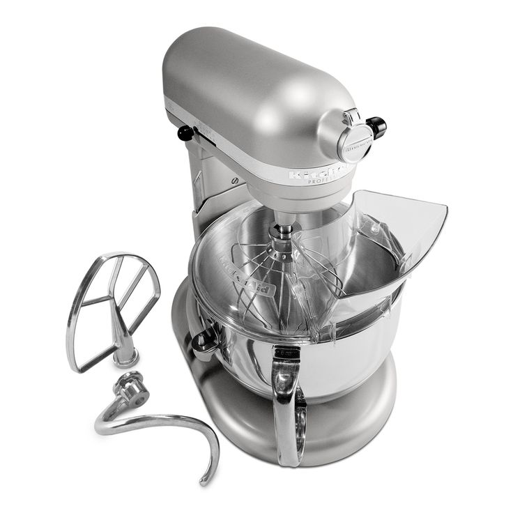 KitchenAid Professional 600 6-Quart 10-Speed Nickel Pearl Stand Mixer    Compare with Artisan at:  http://www.kitchenaid.com/flash.cmd?/#/compare/230/KSM155GBCA/KP26M1XNP/