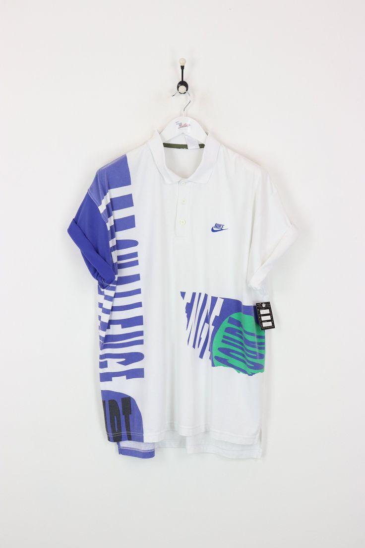 Nike Polo Shirt White XL