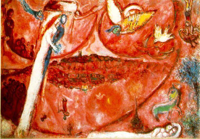 Chagall - Cantico dei cantici