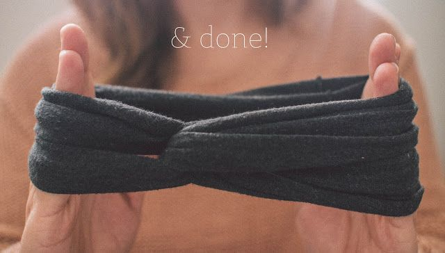 Flourishing: DIY: No-Sew Turbana head band