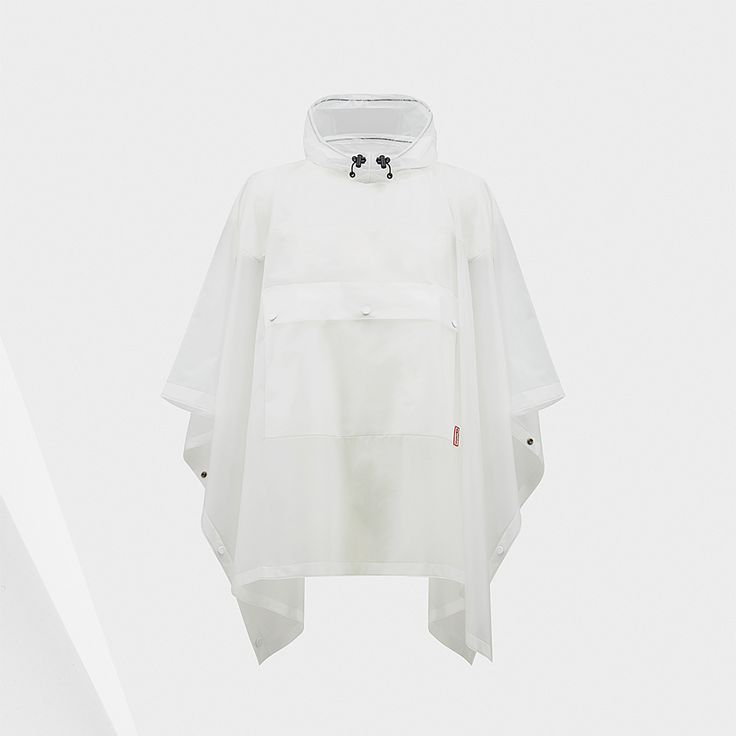Original Clear Poncho | Hunter Boot Ltd - a good raincoat is definitely needed for England