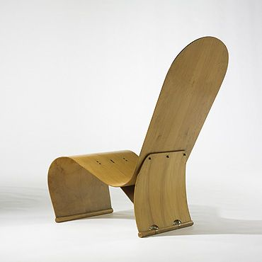 Chair: Herbert Von Thaden (Am.,1898   1969) Lounge Chairs Thaden