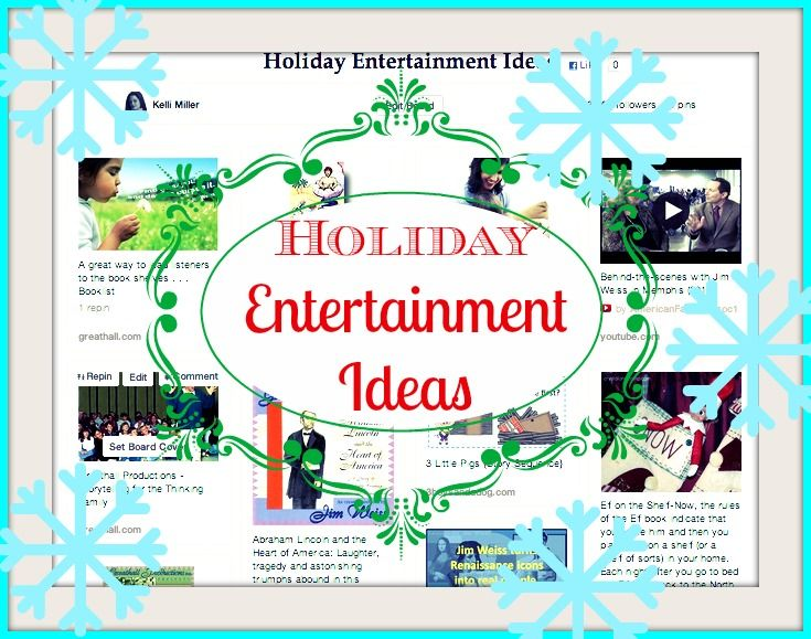 Pinterest Favorite: Holiday Entertainment Ideas