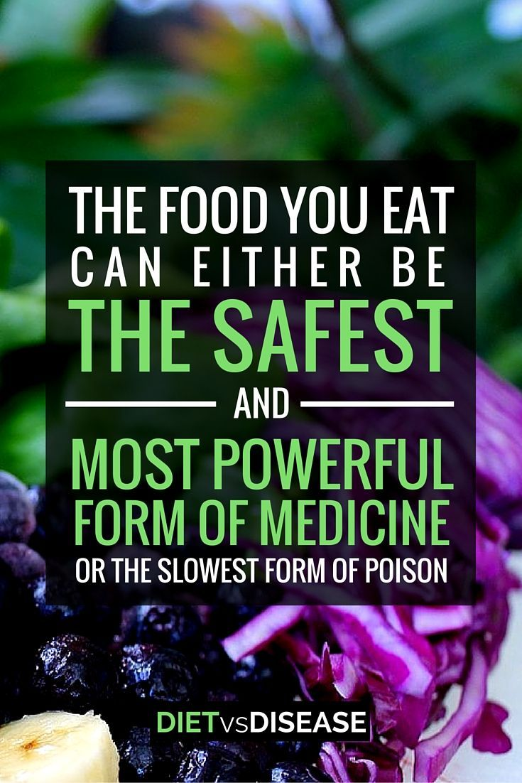 The food you eat can either be the safest and most