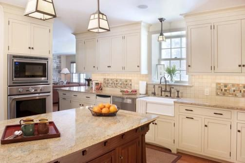 17 best ideas about mission style kitchens on pinterest for White mission style kitchen cabinets