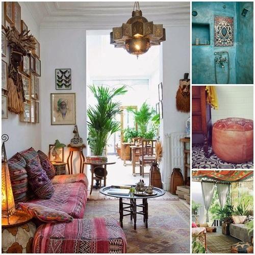 20 ideas para una decoraci n rabe bohemia deco ideas - Decoracion arabe interiores ...