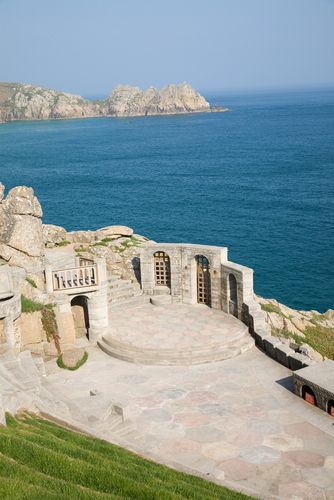 "The Minack Theatre, Cornwall England. I had the pleasure of seeing, ""Alice in Wonderland"" here."