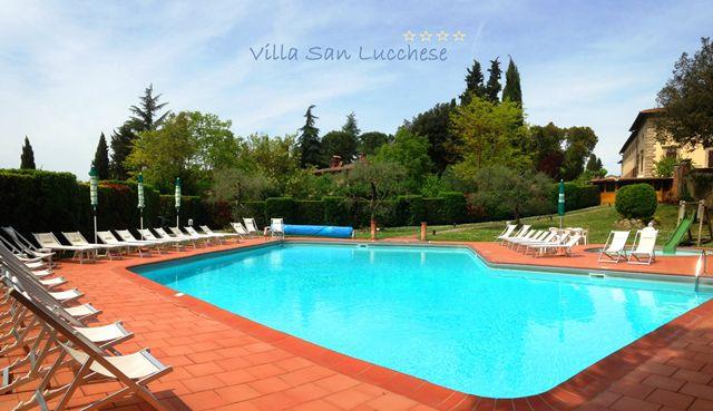 Villa San Lucchese Hotel nel Poggibonsi, Toscana