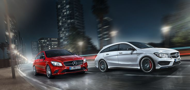 The New Cla Shooting Brake Mercedes Benz 45 Amg 4matic Design Purity Modern Luxury
