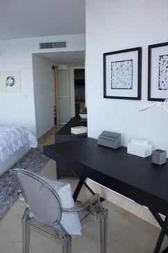 North Miami contemporary bedroom