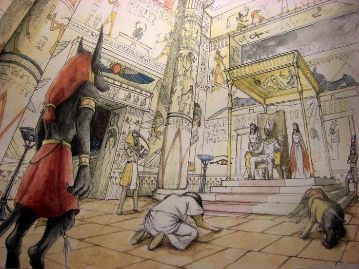 Jugement d'Osiris by Aguilas