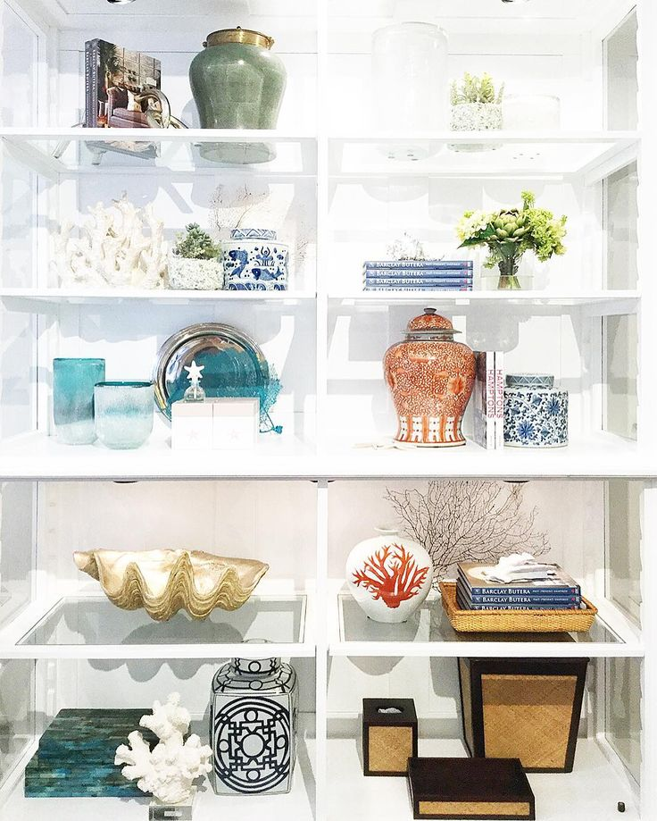 Love Getting New Accessories To Glam Up Our Newport Beach Showroom Shelfie