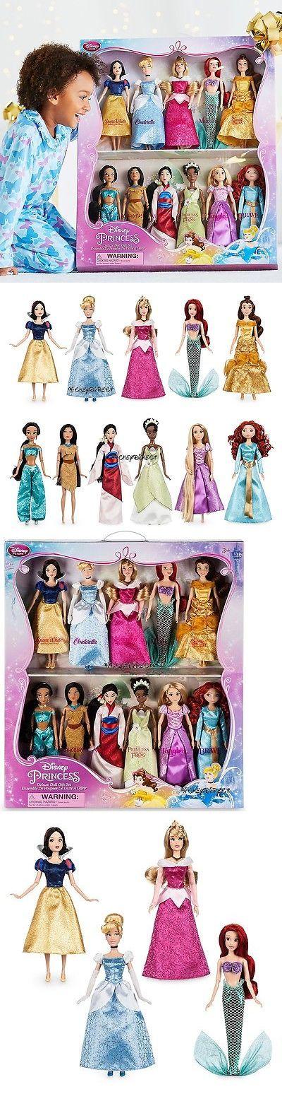 Disney Princesses 146030: Disney Classic 11 Princess Doll Collection Barbie Gift Set Mulan Jasmine Arie + -> BUY IT NOW ONLY: $159.95 on eBay!