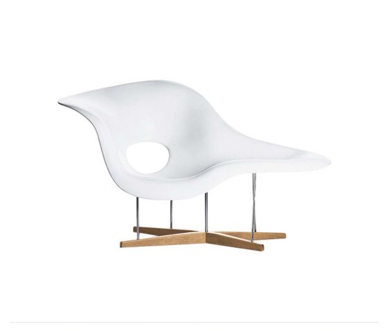 Vitra La Chaise | Charles & Ray Eames | 1948 | chaise longue*