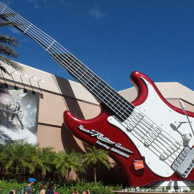 Rock 'n' Roller Coaster starring Aerosmith at Disney's Hollywood Studios at Walt Disney World in Orlando, Florida, USA