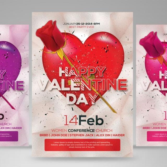 Valentine Day Flyer Valentine Template Valentines Day Funny Valentine S Day Printables
