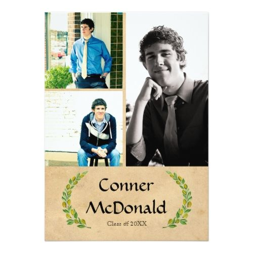 The 120 best High School Boy Graduation Invitations images on