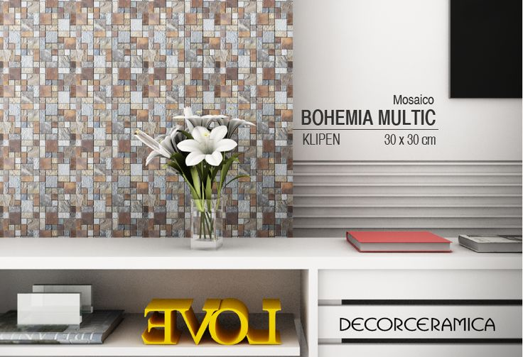 Si marcar la diferencia está en tu ADN, este mosaico ecléctico está hecho para ti.  #mosaicos #paredes #revestimiento #remodelación #hogar #casa #arquitectura #acabados #interiorismo #decor