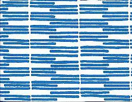 Blue Streak organic cotton canvas