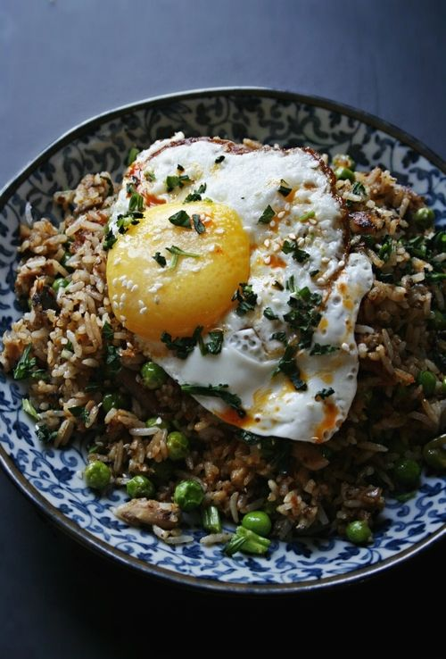 Sardines Fried Rice ~ Notions & Notations of a Novice Cook. Sardines are super high in vitamins, never knew what to do with them.