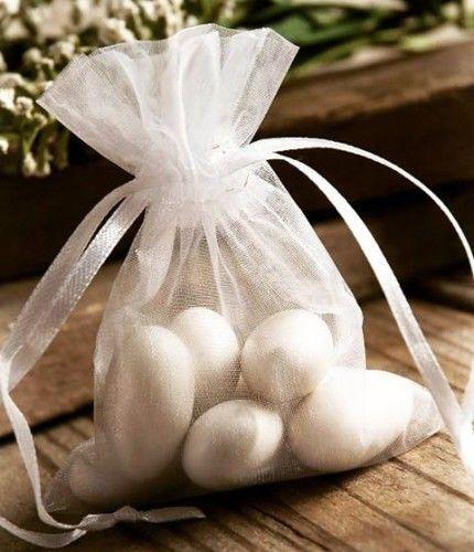 Idéia linda e clássica para usar nossas amêndoas! #amendoasconfeitadas #lembrancinhas #casamento #amendoas